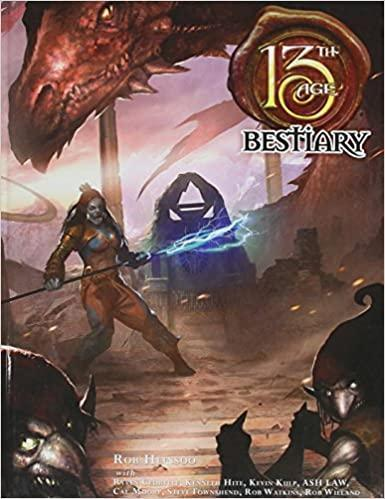 Role Playing Games Saltire Games 13th Age Bestiary