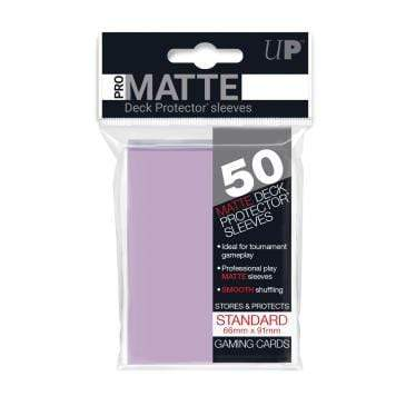 Card Game Accessories Ultra Pro 50ct Pro-Matte Lilac Standard Deck Protectors