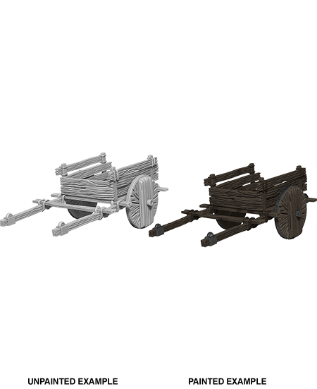 Miniatures WizKids 2 Wheel Cart