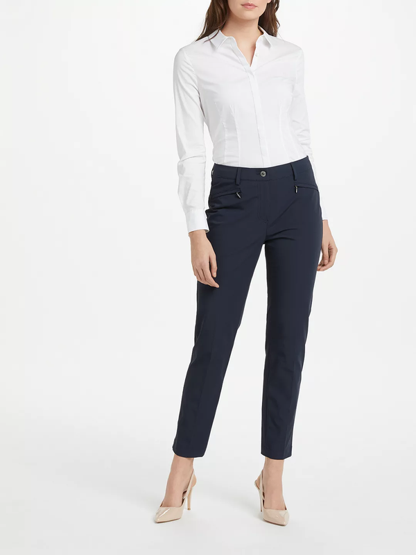 Dina Zip Stretch Pants