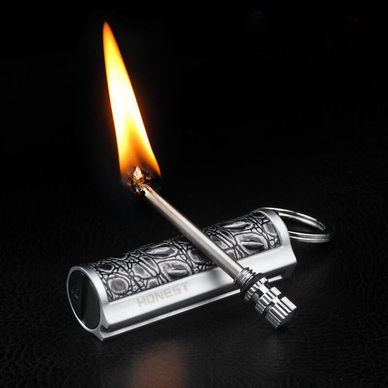 Portable Waterproof Flint Fire Starter Match