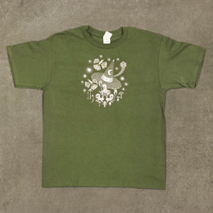 T-shirt Youth hatt green