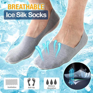 Unisex Breathable Ice Silk Socks (3 Pairs Set)