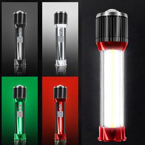 Strong light flashlight-can be used as a power bank, vehicle warning light, desk lamp, etc.