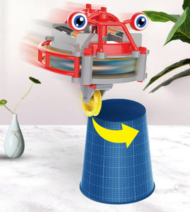 Tumbler wheelbarrow balance toy