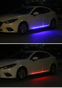 New car led ultra-thin light guide light bar(No Disassembling Needed)