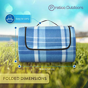Oversized picnic blanket and outdoor beach blanket