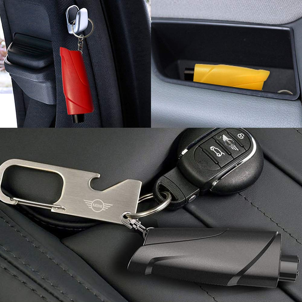 Portable car safety hammer