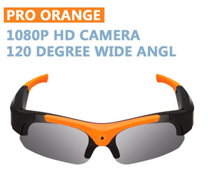Amazing Sunglasses| Audio Microphone| 1080p HD Camera| 120°Wide Angle Lens
