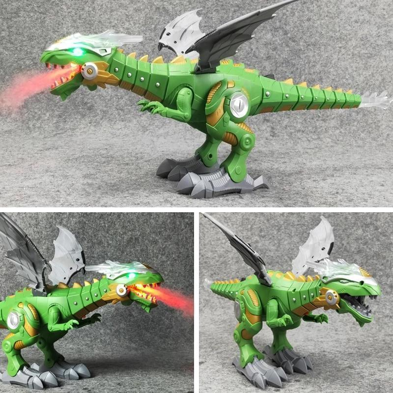 🔥Buy 2 Free Shipping-Mechanical fire-breathing dinosaur toy