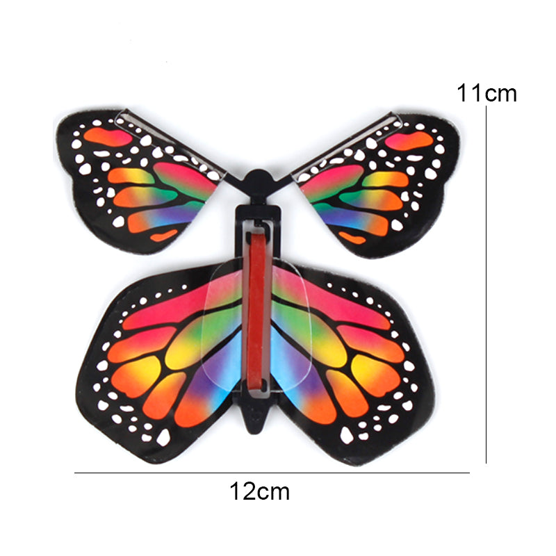 Magic Tricks Flying Butterfly Rubber Butterfly Toy