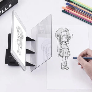 Drawing Projector Kids Toys DIY Gif