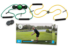 Golf swing auxiliary trainer,Less Back Strain & Injuries