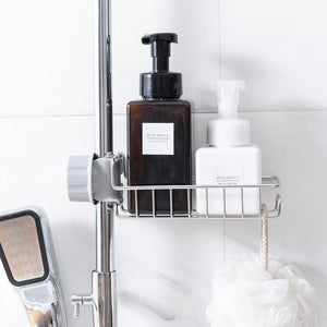 Faucet stainless steel storage rack