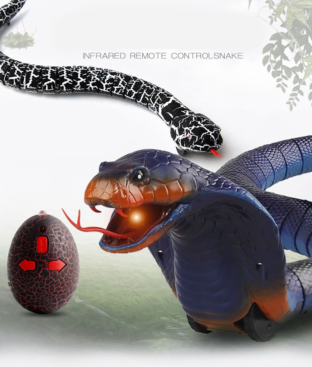 Remote control toy snake for children(Free shipping over$35.99!!)