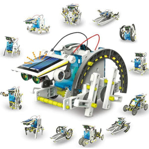 12-in-1 Education Solar Robot Toys(Buy 2 Free Shipping)