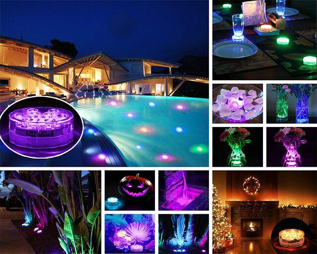Multicolor Waterproof LED Light for Indoors & Outdoors
