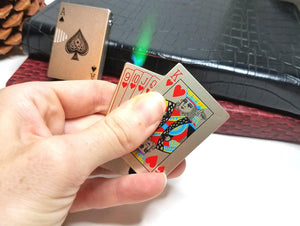 Mini creative playing card lighter