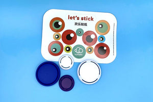 Pop Color Caps and Sticker Pack - livwell