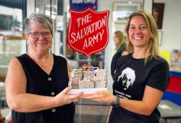 BAR OF HOPE x Salvation Army - our commitment to social responsibility