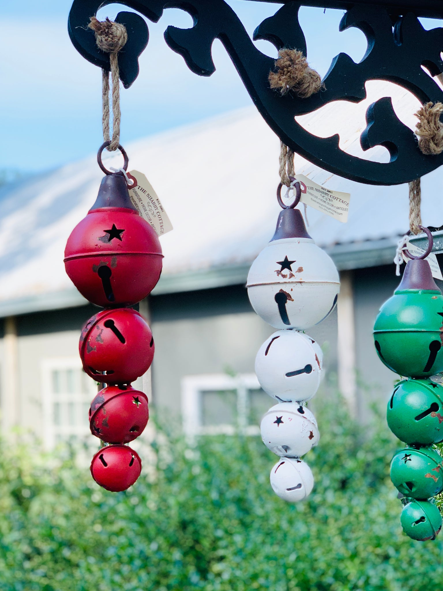 Large Metal Ornaments