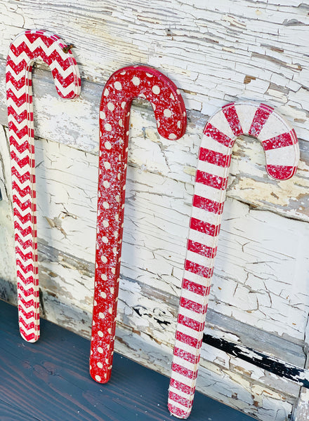 Wood Candy Cane