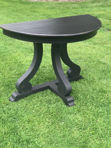 Half Moon Side Table