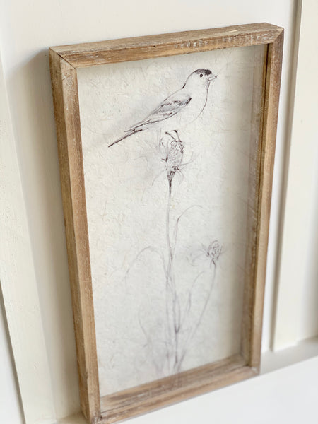 Bird Shadow Box Picture