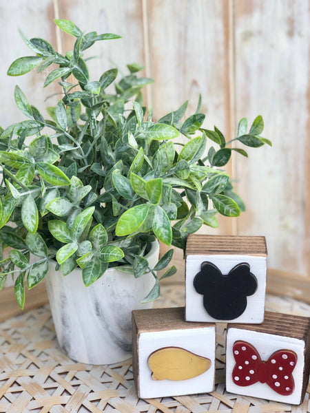DIY Block Kit~Minnie Mouse
