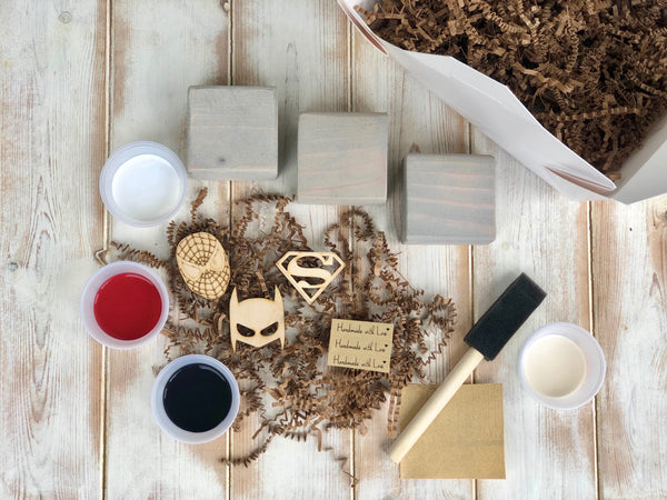 DIY Block Kit~Super Heros