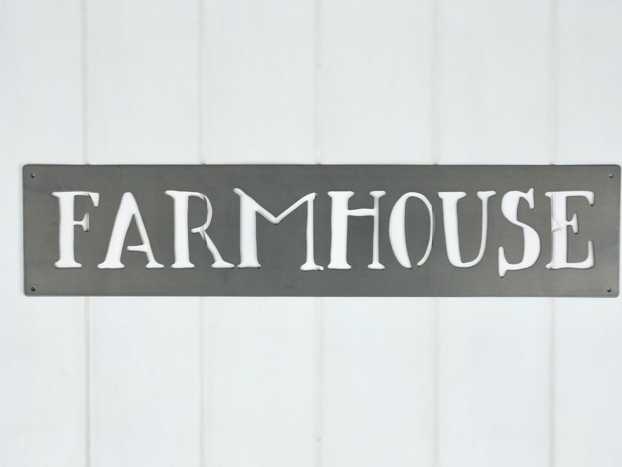 Metal Farmhouse Art