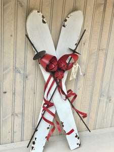 Decorative Metal Skis