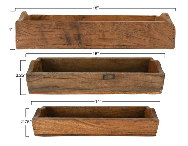 Found Wooden Boxes~3 Sizes