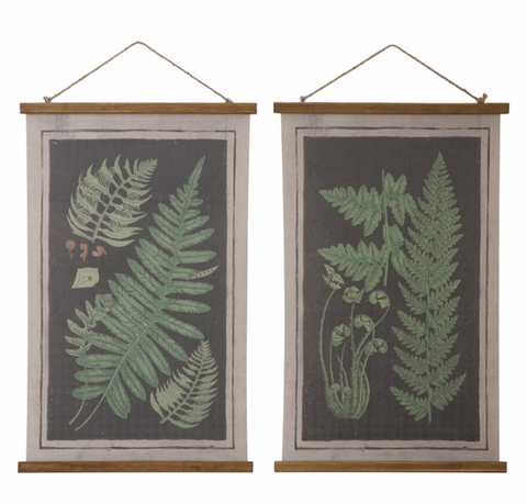 Fern Scroll Wall Decor