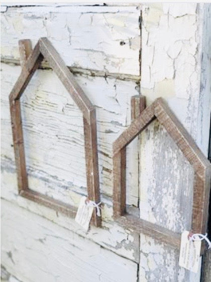 Wood House Frame~Two Sizes