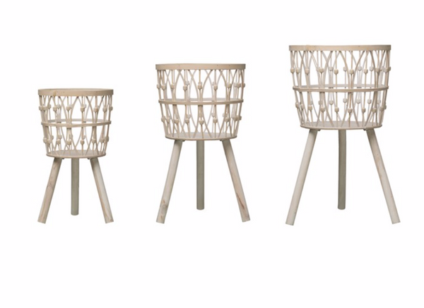 Standing Bamboo Baskets