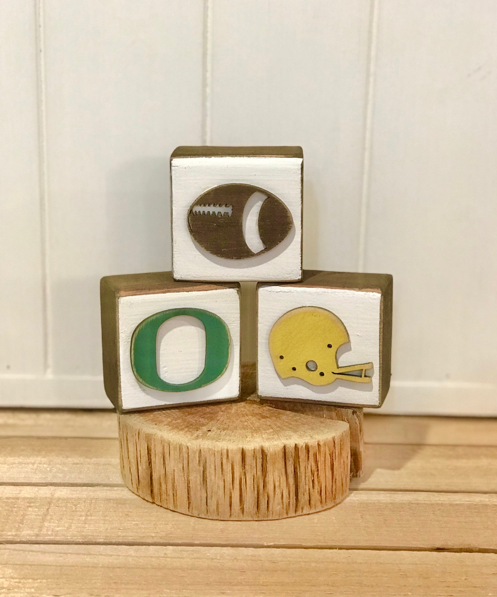 Football Blocks (set of 3)