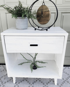Gazebo White Nightstand