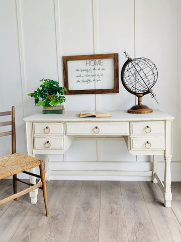 Cottage White Desk