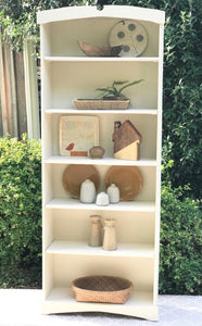 Cottage White Bookcase