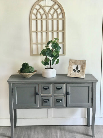 Chalkboard Entry Table