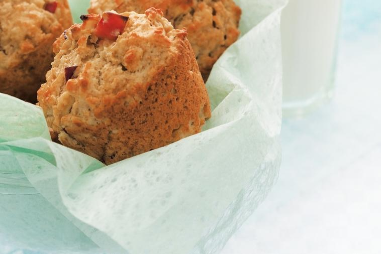 Recipe - Apple Oatmeal and Maple Syrup Muffins