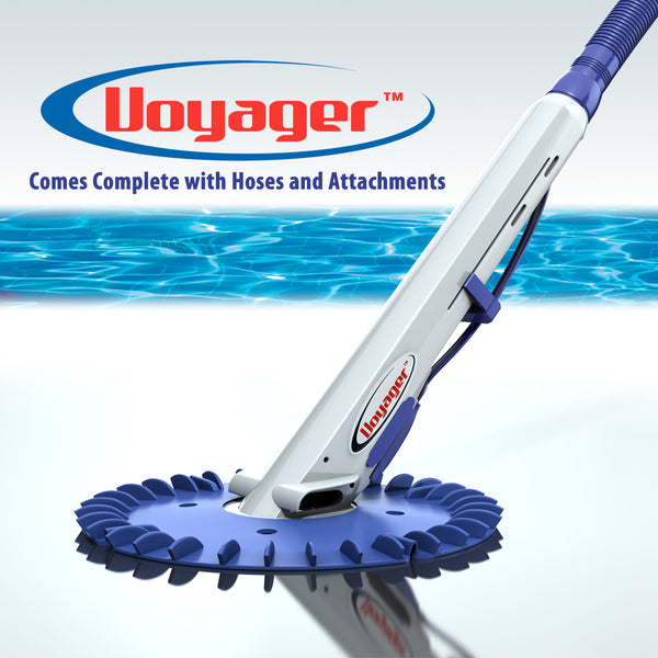 IPP Voyager Combi Pool Cleaner White