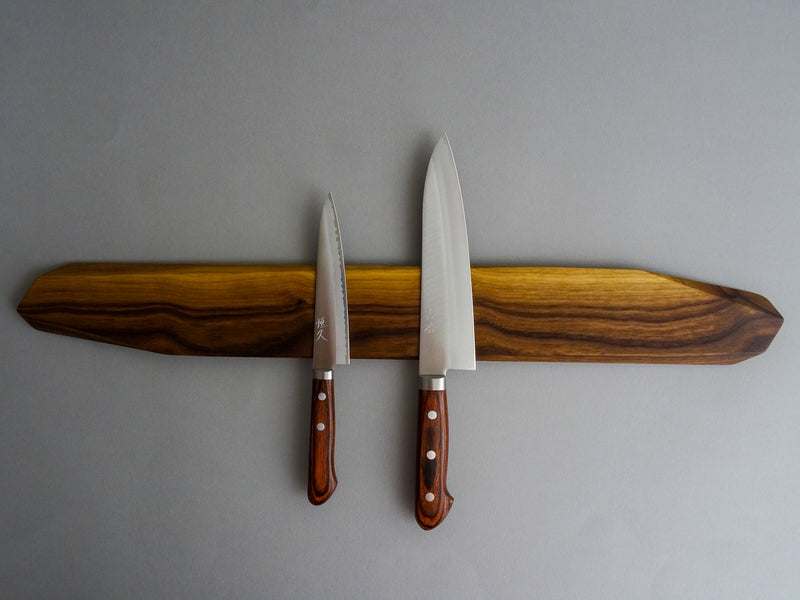 New Stock !! Noyer Magnetic American Walnut Wood Knife Holder 40cm and 60cm