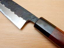 Load image into Gallery viewer, KAWAMURA  KUSABI KUROUCHI PETTY 135MM HONDURAS WOOD HANDLE