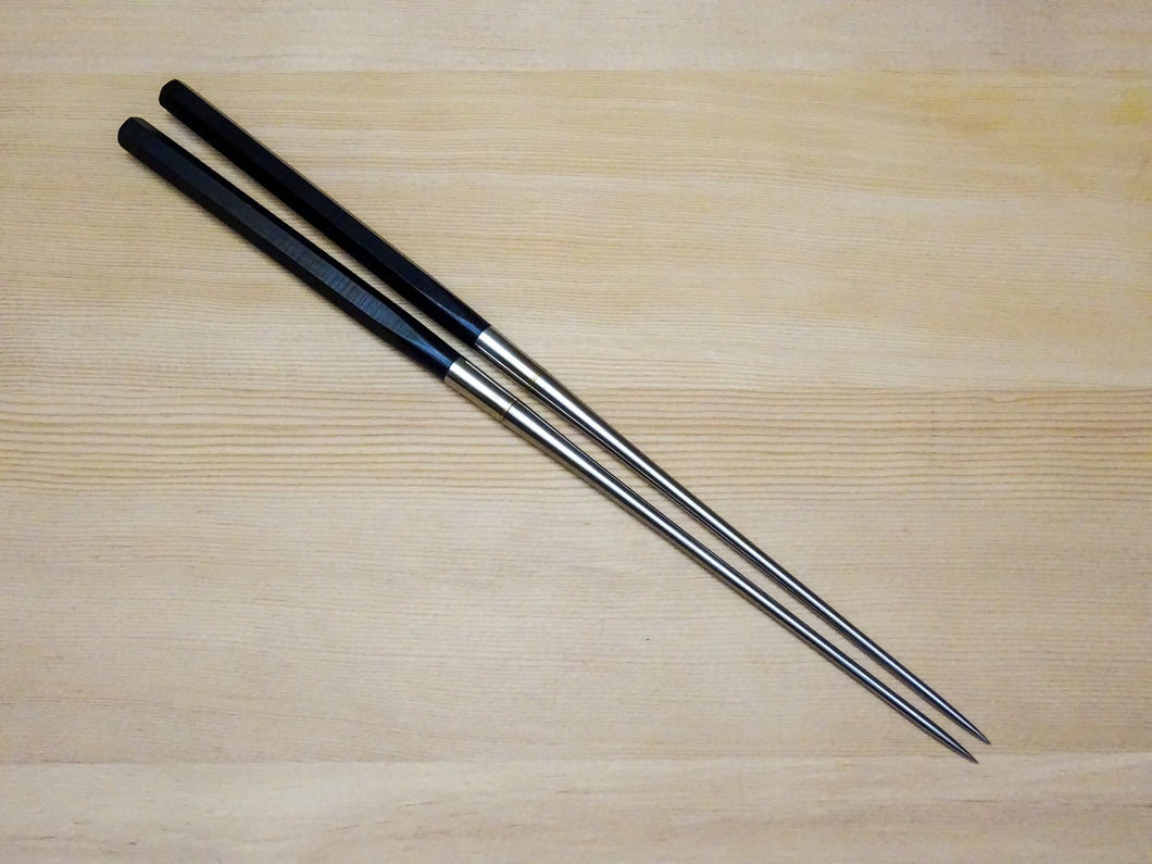 MORIBASHI / PLATING CHOPSTICKS 150MM HEXAGONAL