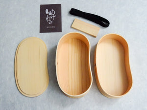 SUGI WOOD BENTO BOX / WOODEN LUNCH BOX (SECOND TIER)