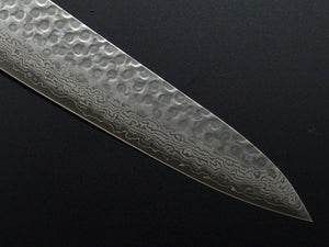 KICHIJI VG-10 33 LAYER HAMMERED DAMASCUS GYUTO 210MM