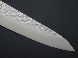 HITOHIRA VG-10 HAMMERED GYUTO 180MM MADE BY TAKAMURA