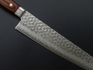 KICHIJI VG-10 33 LAYER HAMMERED DAMASCUS GYUTO 240MM